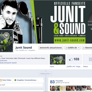 JUNIT auf Facebook & youTube