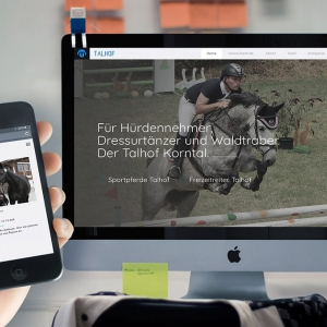 Neues Redesign & Website Talhof Korntal