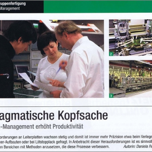 "Platz 7: Best of Products in Fachzeitschrift ""productronic"""