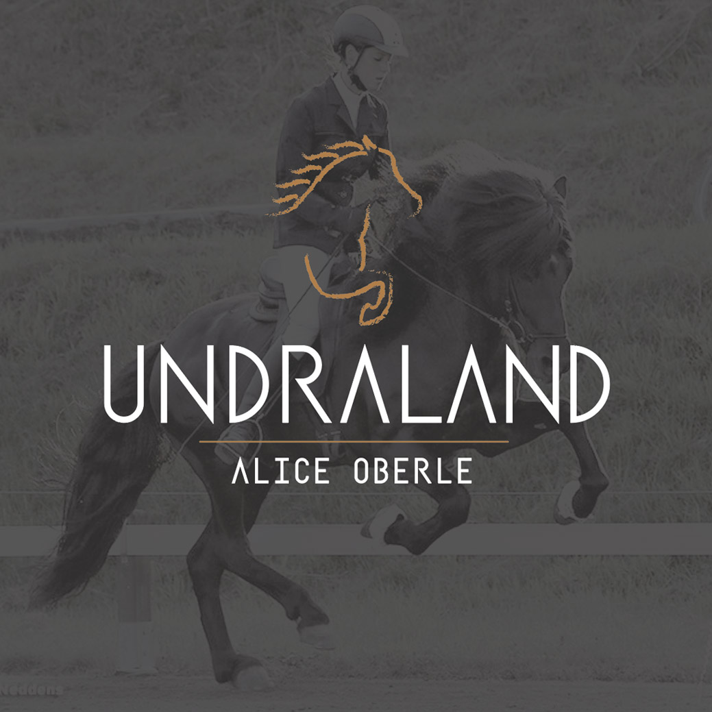 Corporate Design: Undraland Islandpferdesport