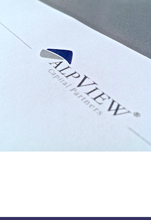 Corporate Design: AlpView Capital Partners Gmbh, München